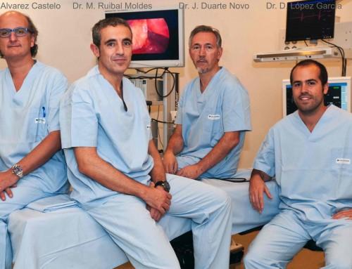 1ª cirugía robótica en Galicia. Hospital San Rafael